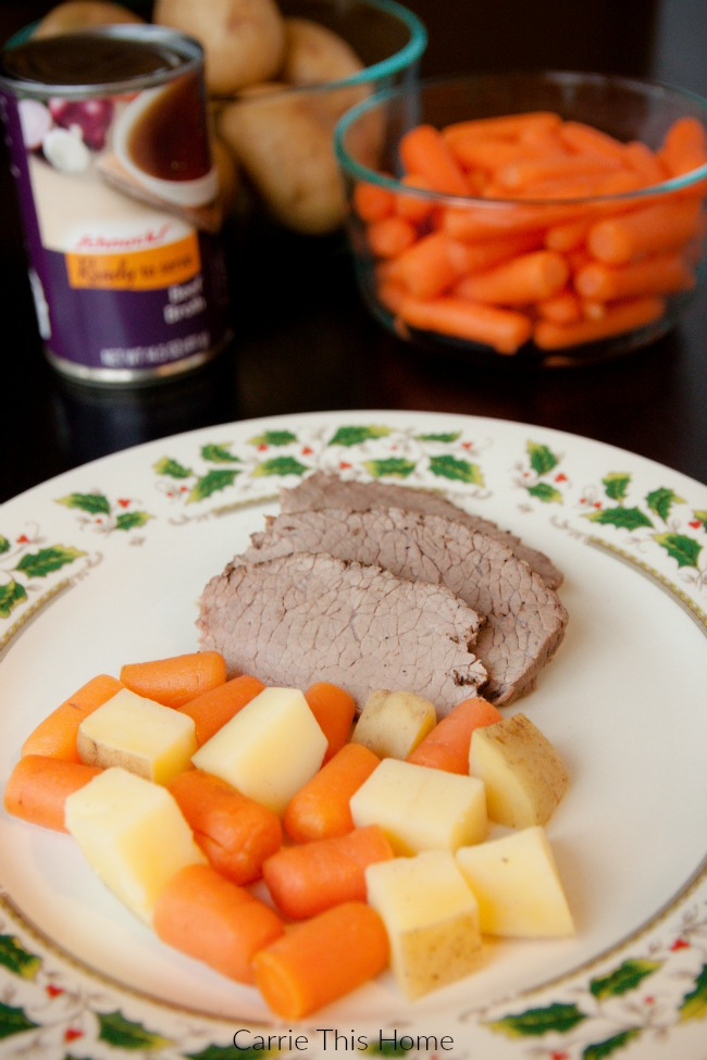 Easy beef roast made with quality Schnucks products!