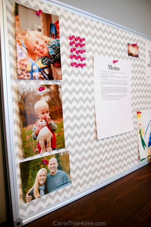 every memo board has to have cute photos on it!