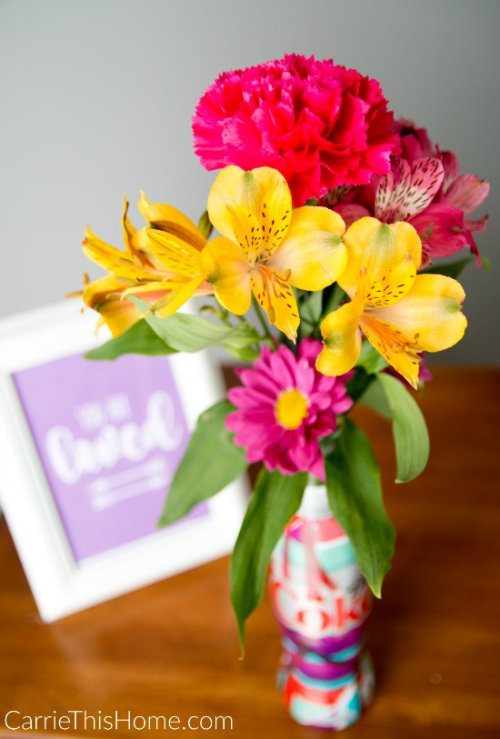 This easy 5 minute gift set is perfect to brighten someone's day #UniquelyMine #ad