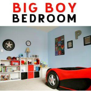 Big Boy Bedroom Design