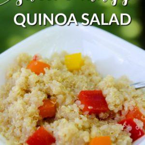 4 Ingredient Quinoa Salad